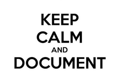 document everything