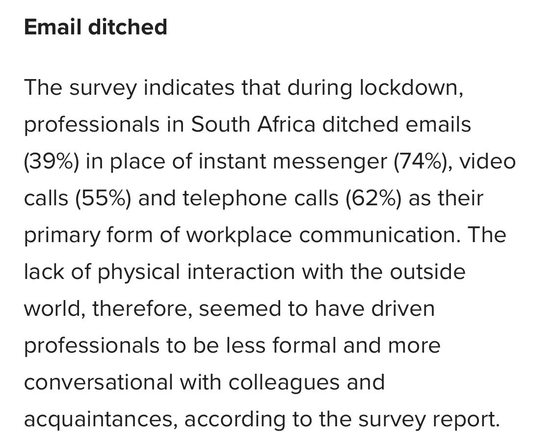 SA remote communication