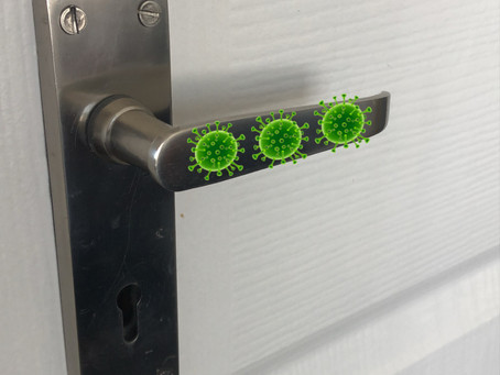 virus door handle